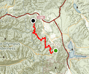 Midmountain Trail Map