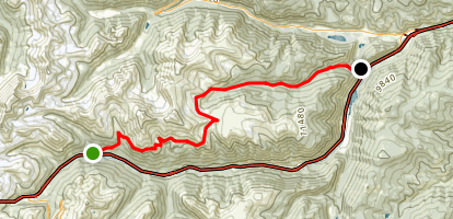 Bard Creek Trail Map