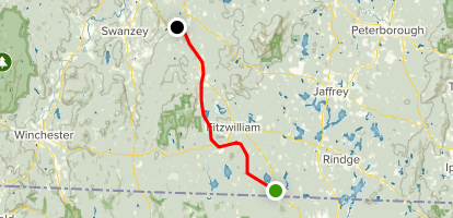 Monadnock Recreation Rail Trail Map