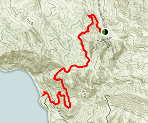 Point Sal Overlook Map