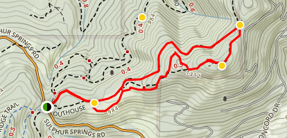 Vineyard Mountain Loop Map