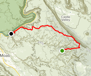 Porcupine Rim Map