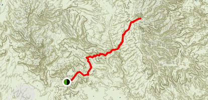 Safford Morenci Trail Map
