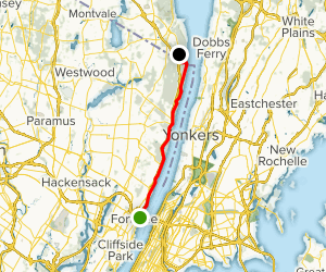 Long Path Trail along the Hudson Map