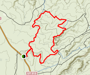Chisholm Horsethief Loop Trail Map