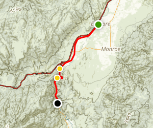 Candy Mountain Express Trail Map