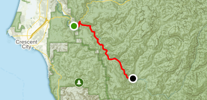 Smith River Scenic Byway Map