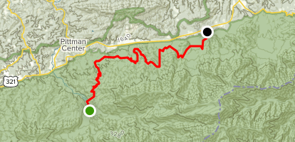 Old Settlers Trail Map