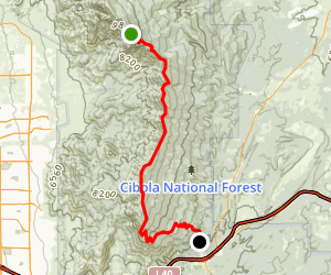 South Crest Trail Map