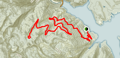 Hungry Horse Reservoir Trail Map