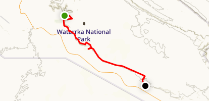 Giles Track Map