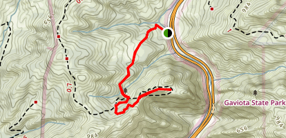 Overlook Fire Road Map