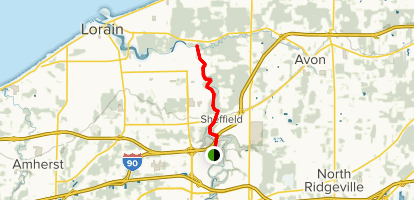Black River Reservation Bridgeway and Steel Mill Trail Map