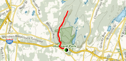 Hartford View Trail Map