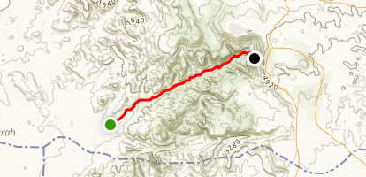 Dana Trail Map