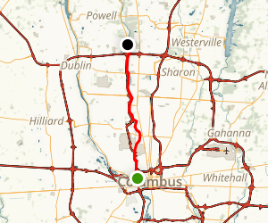 Olentangy Trail Map