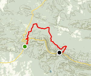 Boardstand Trail Map