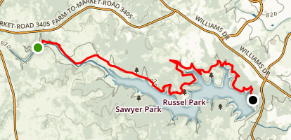Good Water Trail Map