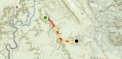 Kane Creek Canyon Trail Map