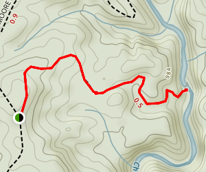 Riley Moore Falls Map