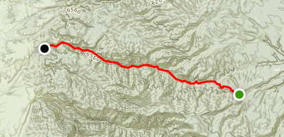Mineral Creek Trail Map