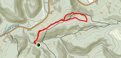 Smith's Knob Trail Map