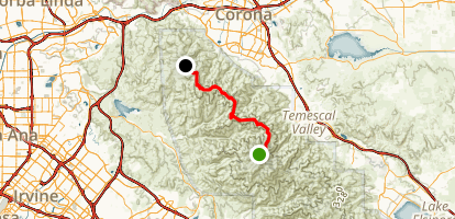 North Main Divide Trail Map