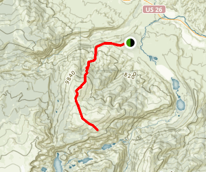 Whiskey Mountain Trail Map