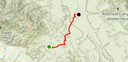Redfield Canyon Map