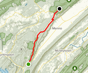 Standing Stone Trail Map