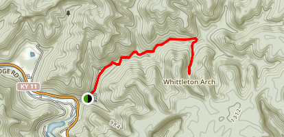 Whittleton Branch Trail Map