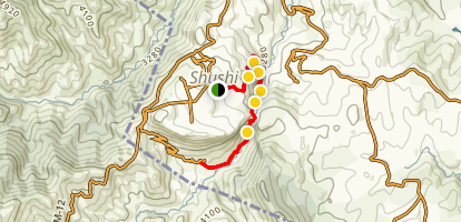 Janapar Trail - Karintak to Shushi Map