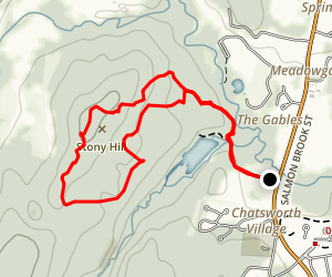Mclean Blue To Red Trail Map