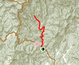 Courthouse Creek Falls Trail Map