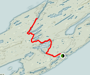 Indian Portage Trail Map