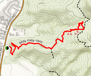 Bark Park Trail Map
