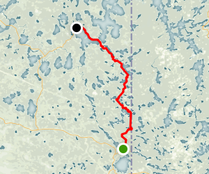 Mantario Trail Map