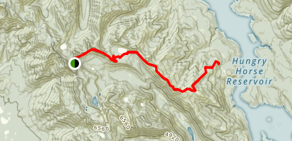 Tongue Mountain Trail Map