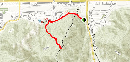 Little Moby Trail Map