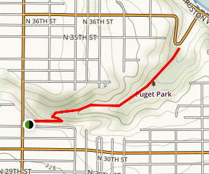 Puget Park Trail Map