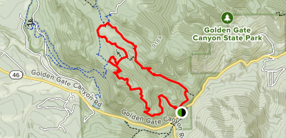 Black Bear/Horseshoe Loop Map