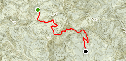 Baldy Pass Map
