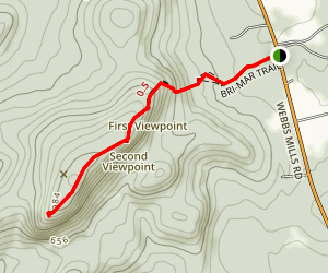 Rattlesnake Mountain via Bri-Mar Trail Map