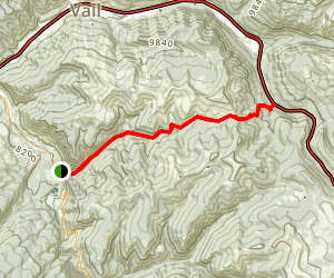 Two Elk National Recreation Trail Map