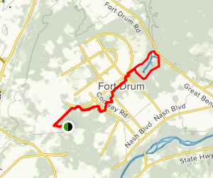 Fort Drum Trails Map