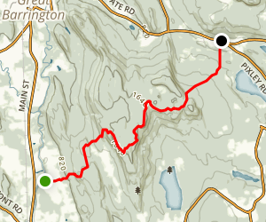 Appalachian Trail: Mount Washington to Sheffield Map
