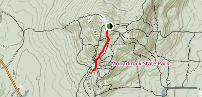 White Arrow Trail Map