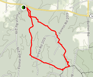 Lone Star and Little Lake Loop Trail Map