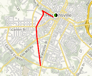 Hopkinsville Greenway Map