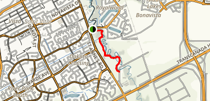 Seine River South Trail Map